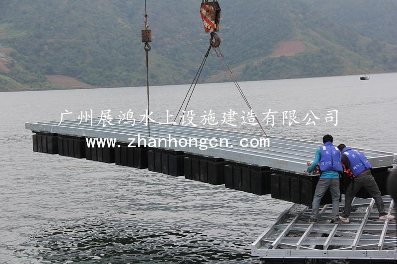 钢结构-浮箱-广州展鸿水上设施建造有限公司